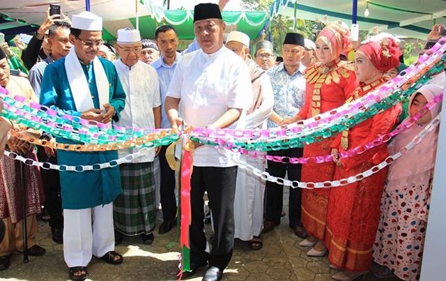 Pjs Walikota Kotamobagu Hadiri Peresmian Masjid Az – Zahra
