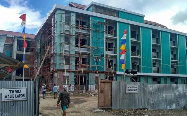 Juli, Bangunan RSUD Kotamobagu Difungsikan