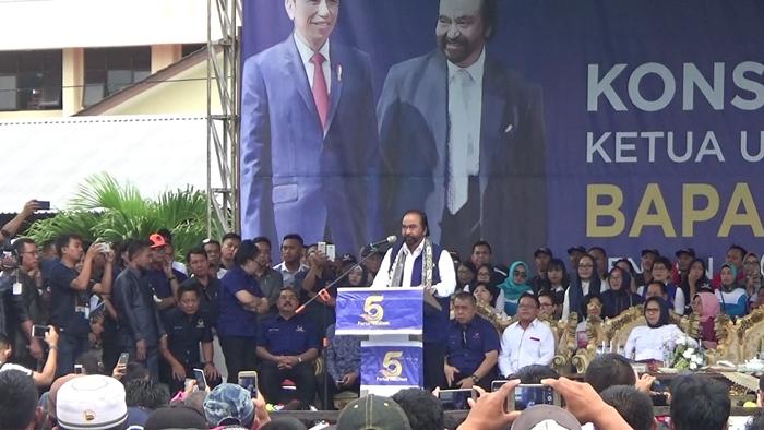 Nasdem Targetkan Masuk Tiga Besar di Pemilu 2019 Mendatang