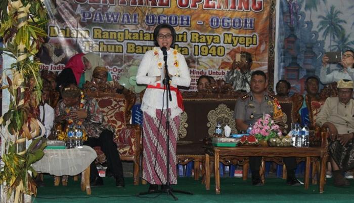 Kata Bupati, Seni Ogoh-Ogoh Pesan Toleransi Beragama di Bolmong