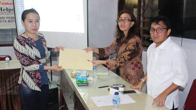 KPU Kotamobagu Tetapkan DPS Pilkada 2018