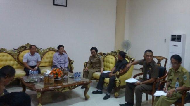 PT Conch dan Pemkab Bolmong Lakukan Pertemuan Bicarakan Tenaga Kerja