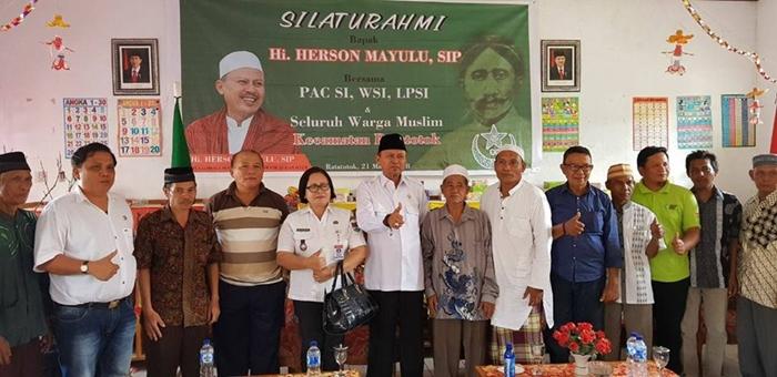 H2M Silahturahmi dengan Kader Sarekat Islam