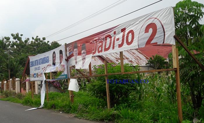 Pengrusakan APK Paslon di Kotamobagu Marak Terjadi