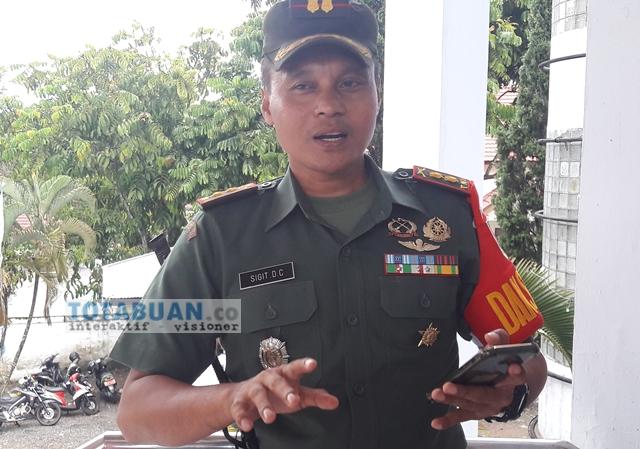 Dandim Bolmong Siapkan Hadiah Untuk Babinsa Yang Berhasil Menangkap Pelaku Politik Uang