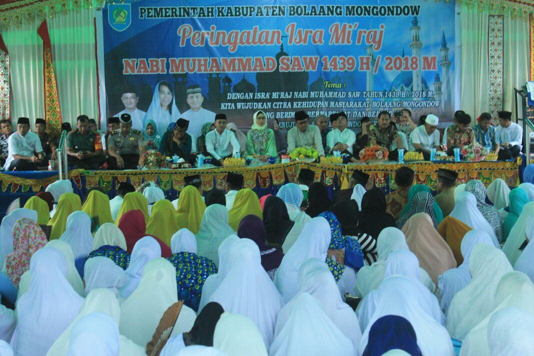 Pemkab Bolmong Rayakan Isra Mi'raj