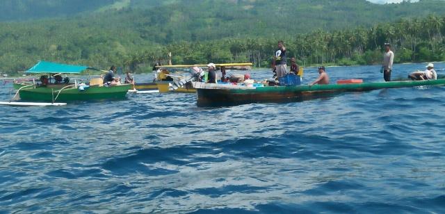 Kodim 1303 Bolmong dan Warga Amankan 29 Nelayan Gunakan Pukat Harimau