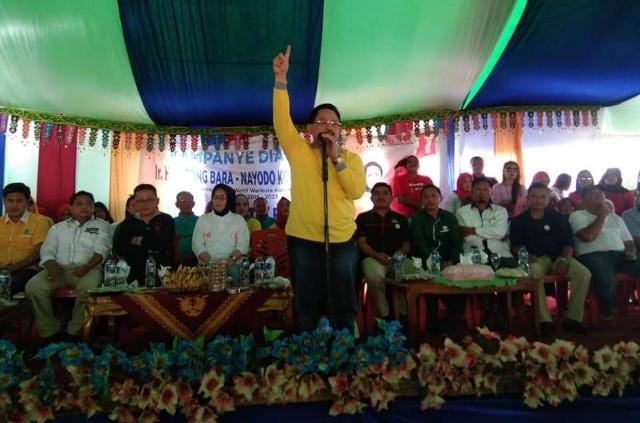 Di Kampanye Dialogis, Djelantik Puji Kepemimpinan Tatong Bara