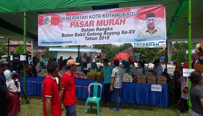 Walikota Ingatkan PNS Dilarang Membeli Bahan Pokok di Pasar Murah Pasar