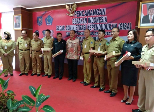 Pemkab Bolmong Dukung Gerakan Indonesia Sadar Administrasi