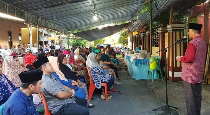 H2M Silahturahmi dengan 4000 Warga Gorontalo di Sangihe