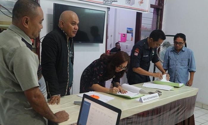 KPU Kota Kotamobagu Tetapkan Daftar Pemilih Tetap Berjumlah 85.800 Pemilih