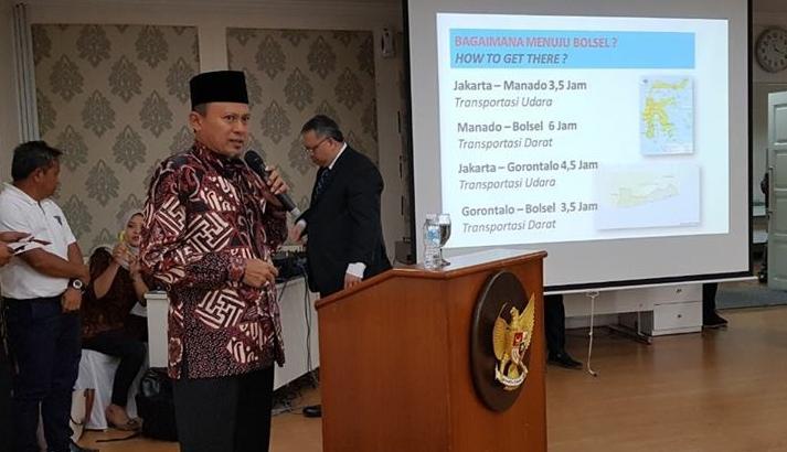 Bupati Bolsel Paparkan Potensi Wisata ke Investor Malaysia dan Indonesia