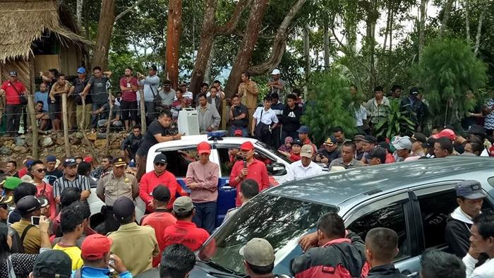 Bolmong-Bolsel Memanas, Polres Kerahkan 150 Personil di Perbatasan