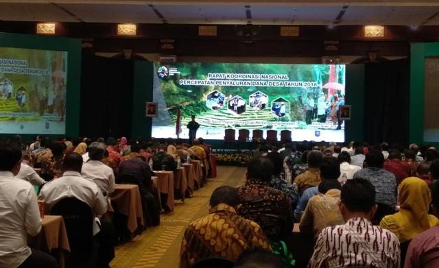 Walikota Kotamobagu Hadiri Rakornas Penyaluran Dana Desa