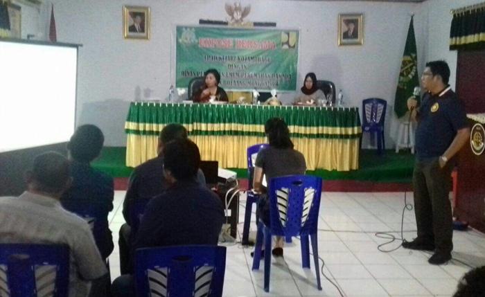 Dinas PU Bolmong dan TP4D Kejaksaan Negeri Kotamobagu Ekspose Tiga Paket Proyek