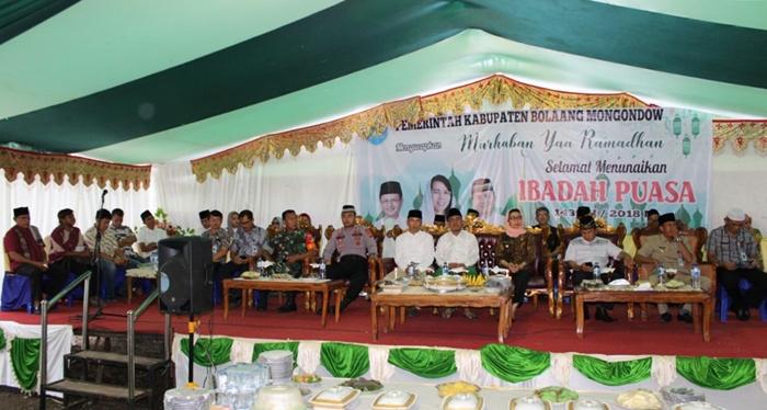 Safari Ramadhan Pemkab Bolmong Dimulai dari Desa Langagon