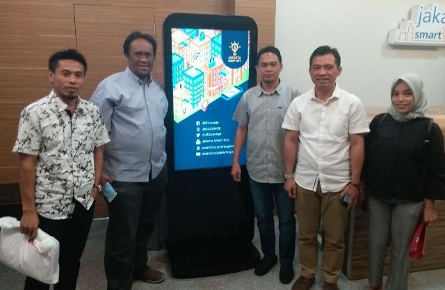 Diskominfo Kotamobagu Berkunjung ke Smart City Jakarta Terkait Pengembangan e-Goverment