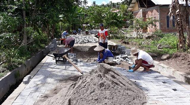 Desa Tabang Fokus Pembenahan Infrastruktur dan Pemberdayaan