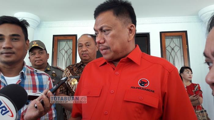 Olly: PDIP Sulut Target Sumbang Tiga Kursi ke DPR RI