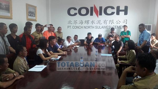 PT Conch Gelontorkan 70 Miliar Bangun Kantor Bupati Baru di Bolmong