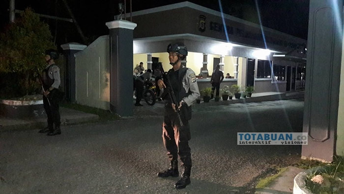Polres Bolmong Siaga Satu, Personil Bersenjata Lengkap Disiagakan