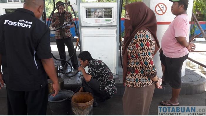Dinas Perdagangan ESDM Bolmong Periksa Alat Ukur Takar Timbangan di Empat SPBU