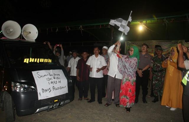 Jadikan Pawai Takbir di Bolmong Sebagai Syiar Nuansa Religius