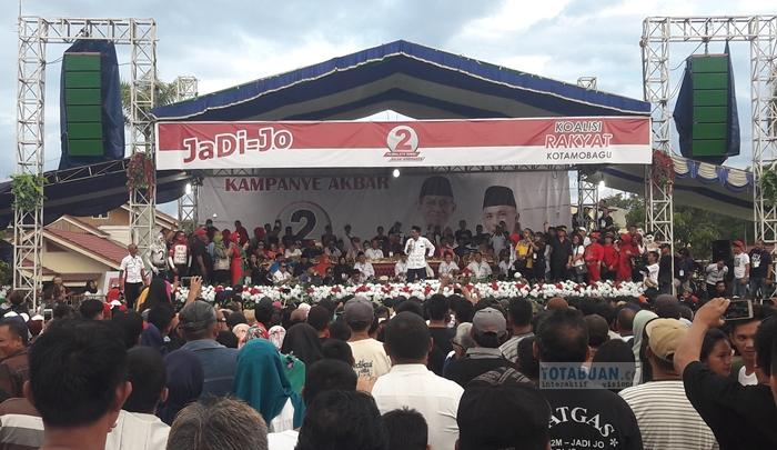 Bikin Merinding, Doa Sehan Landjar di Kampanye Jadi-Jo