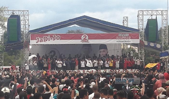 Bupati Boltim Jadi Orator di Kampanye Pasangan JaDi-Jo