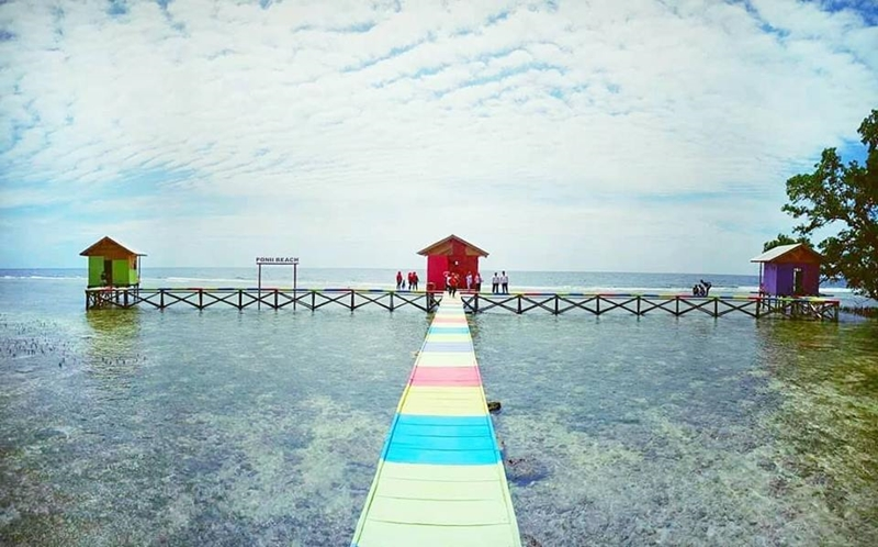 Pantai Wisata Bolsel Jadi Favorit Warga Saat Libur
