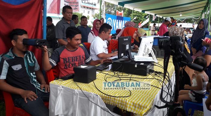 Blangko e-KTP Sangat Tersedia Untuk Warga Kotamobagu