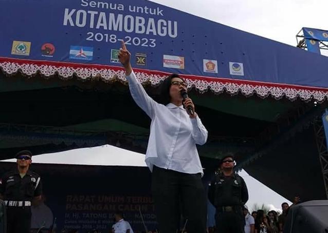 Bupati Bolmong Ingatkan PNS Berdomisili di Kotamobagu Tidak Golput