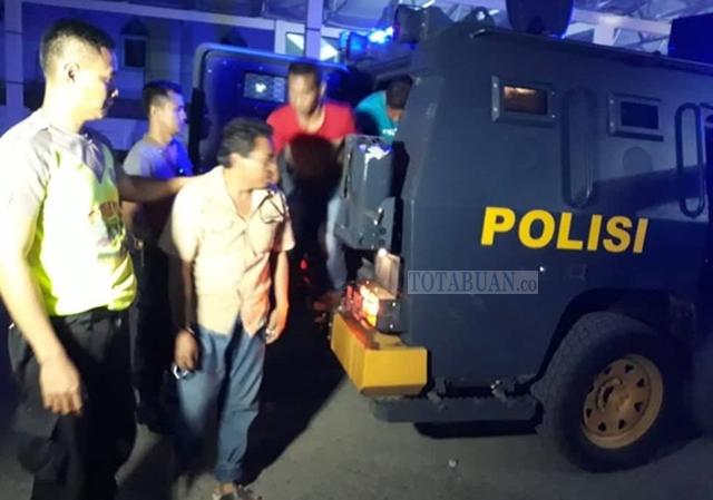 Bawa Sajam Saat Demo di Kantor KPU Bolmut, Tiga Orang Diamankan Polisi