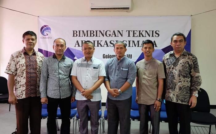 Dinas Kominfo Bolmong Ikut Bimtek Aplikasi siMAYA