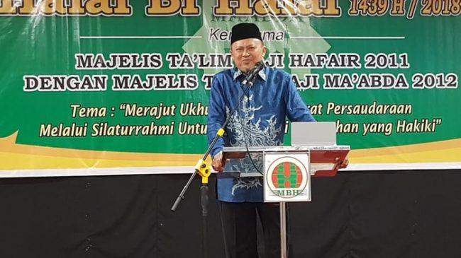 Bupati Bolsel Berikan Hikmah Halal Bi Halal di Acara Majelis Ta'Lim