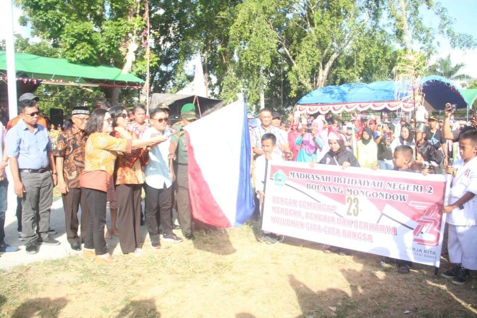Buka Kanaval Lintas Etnis, Bupati Bolmong Ajak Perkuat Rasa Nasionalisme