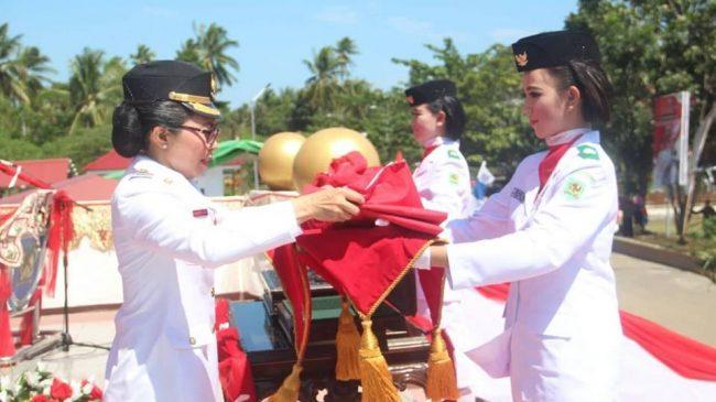 Detik Detik Memperingati HUT ke 73 Kemerdekaan RI di Kabupaten Bolmong