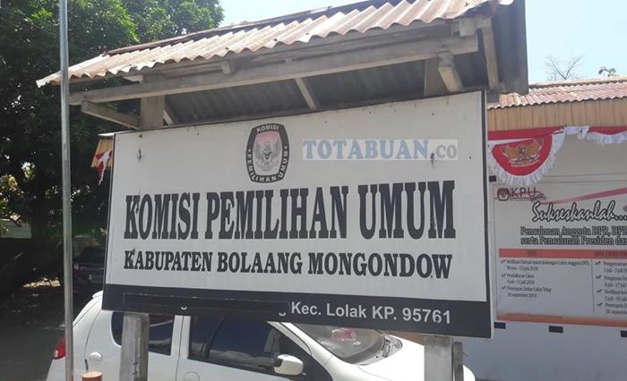 KPU Kabupaten Bolmong Pleno Jumlah DPT Untuk Pemilu 2019