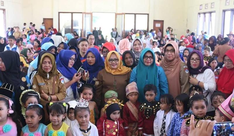 Kegiatan Jambore PAUD 2018 di Boltim Resmi Dibuka