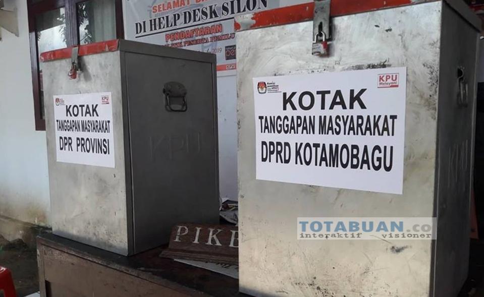 Terkait DCS, KPU Kota Kotamobagu Belum Terima Tanggapan Masyarakat