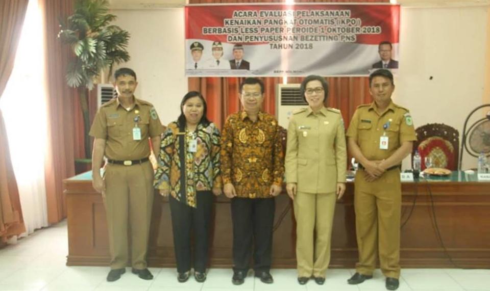 Ini Kata Bupuati Bolmong Soal Kunjungan Kerja Kepala Kantor Regional XI BKN Manado