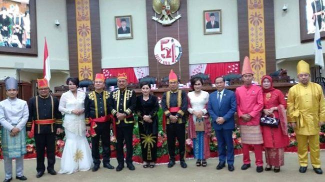Plh Bupati Bolsel Iskandar Kamaru Hadiri Upacara HUT Provinsi Sulut