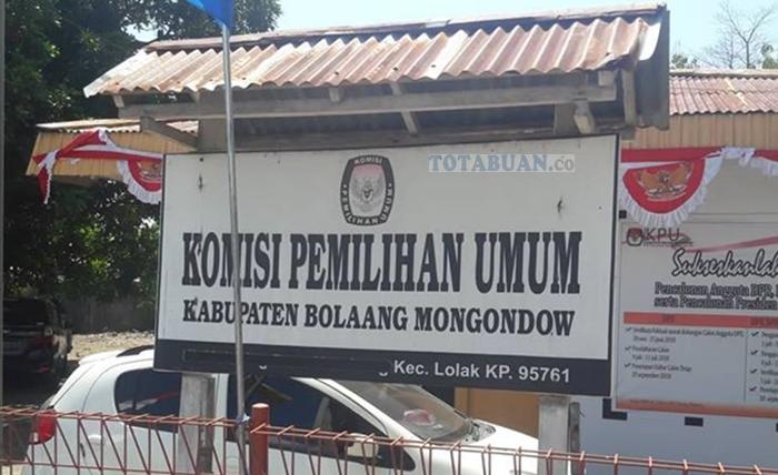 KPU Bolmong Siap Coret Parpol Tak Masukan Laporan Dana Kampanye