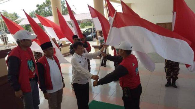 Pemkab Bolmong Terima Pasukan 17 Kirab Satu Negeri GP Ansor