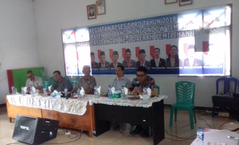 DPRD Kabupaten Bolmong Timur Serap Aspirasi