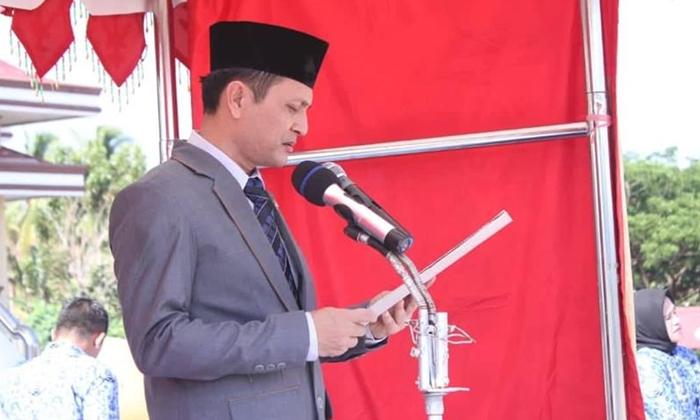 Wabup Bolmong Jadi Irup Upacara HUT Provinsi Sulut