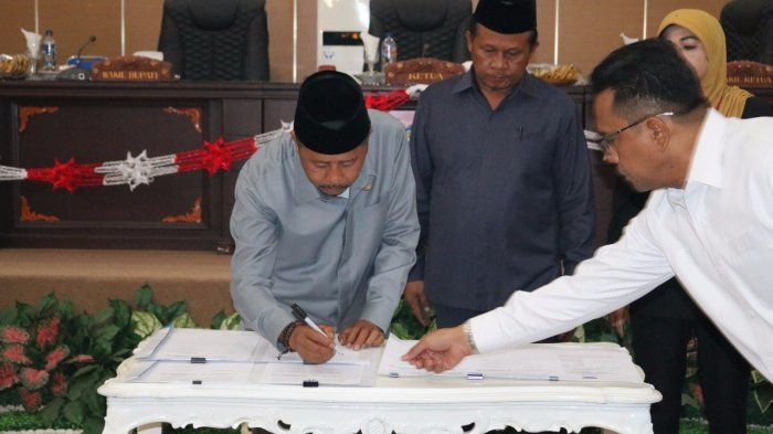 DPRD Boltim Paripurnakan Tiga Perda Inisiatif