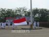 Tampak Pelaksanaan Upacara HUT Proklamasi Kemerdekan Tahun 2015. (foto dok)
