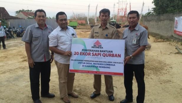 Semen Indonesia Salurkan 102 Hewan Kurban
